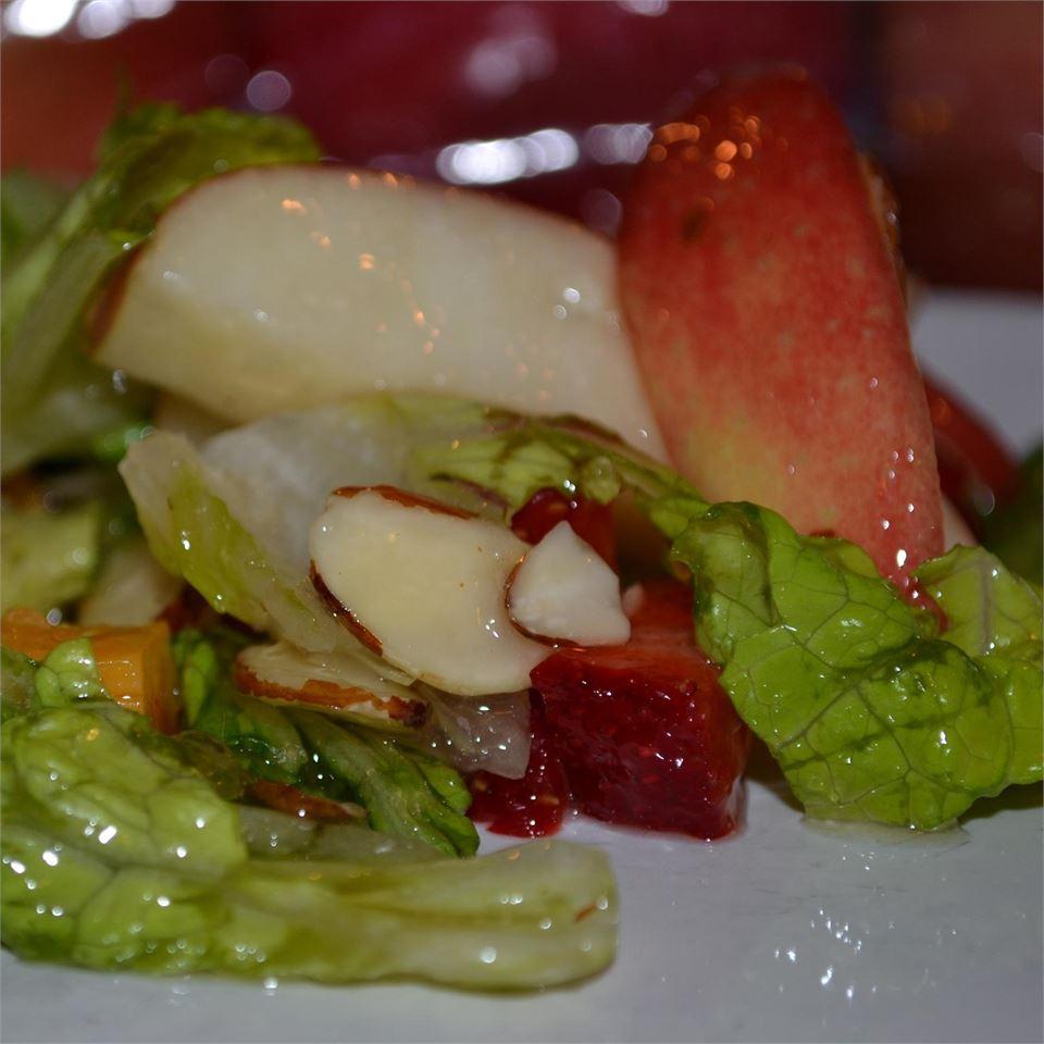 Nutty Strawberry Salad Ashley Geist