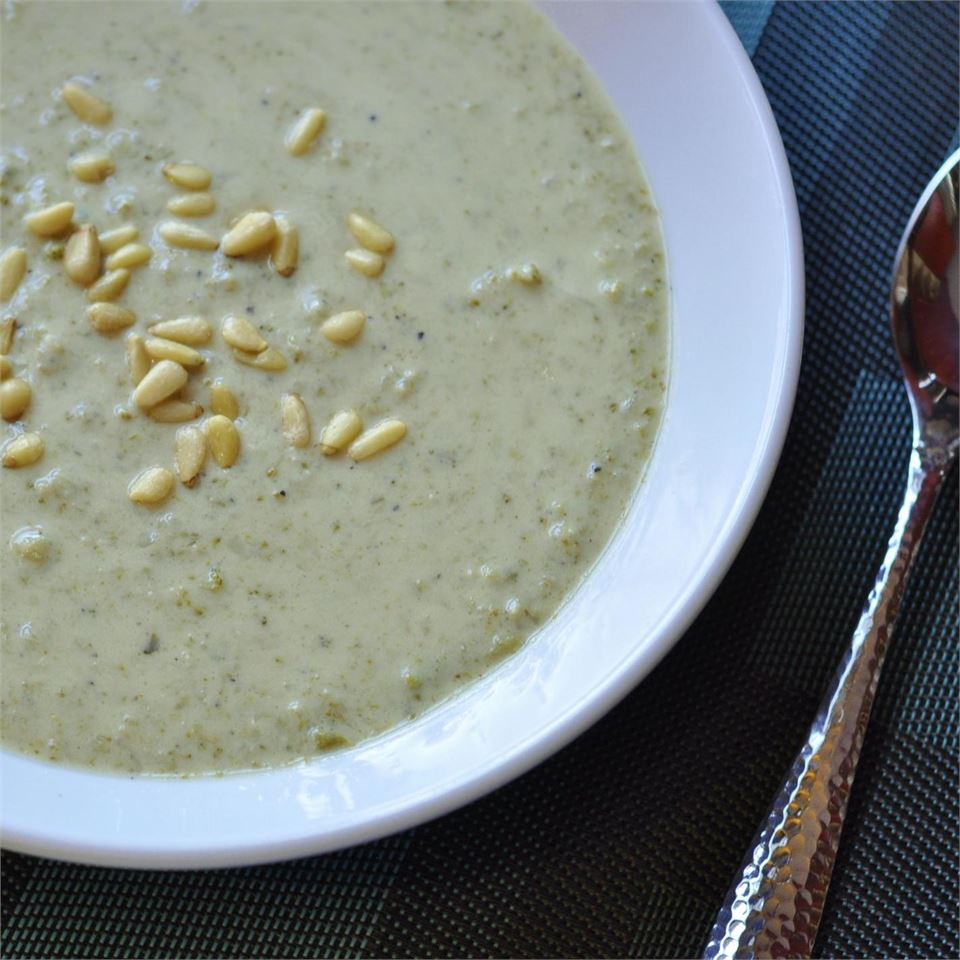 Creamy Broccoli With Mustard Soup USA WEEKEND columnist Pam Anderson
