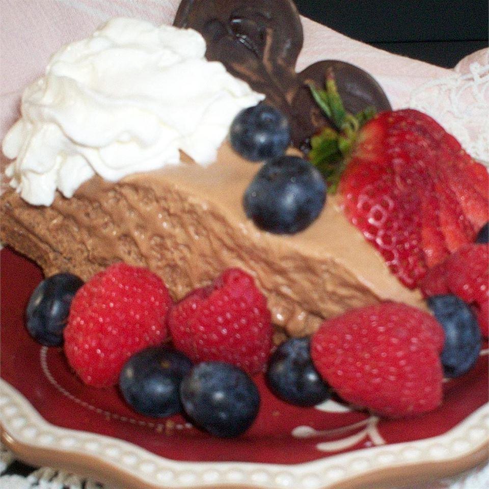 Jessica's Amazing Chocolate Mousse Pie