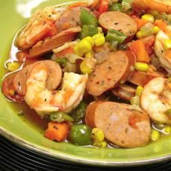 New Orleans Stew with Smoked Andouille Chicken Sausage Trusted Brands
