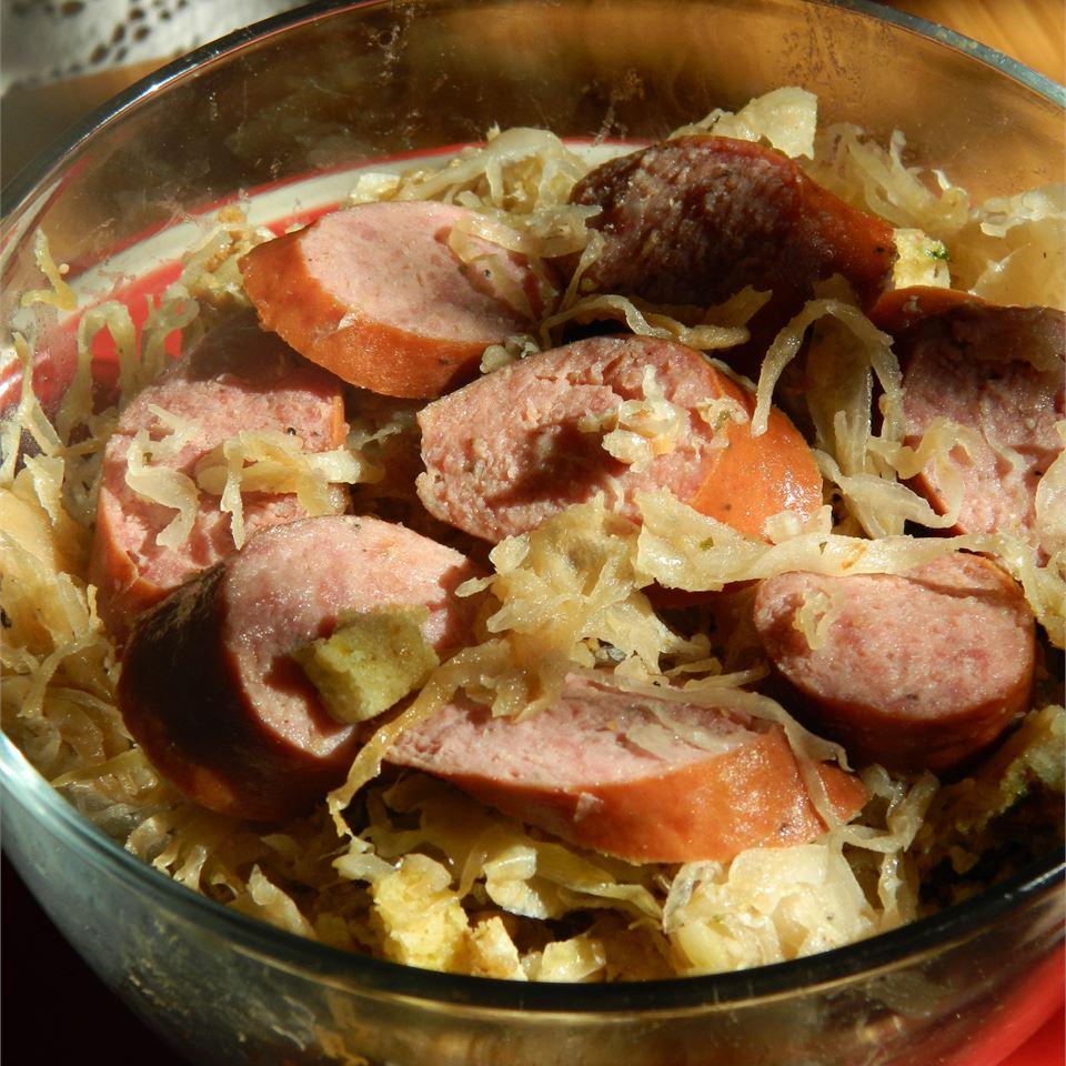 The Original Kielbasa and Sauerkraut