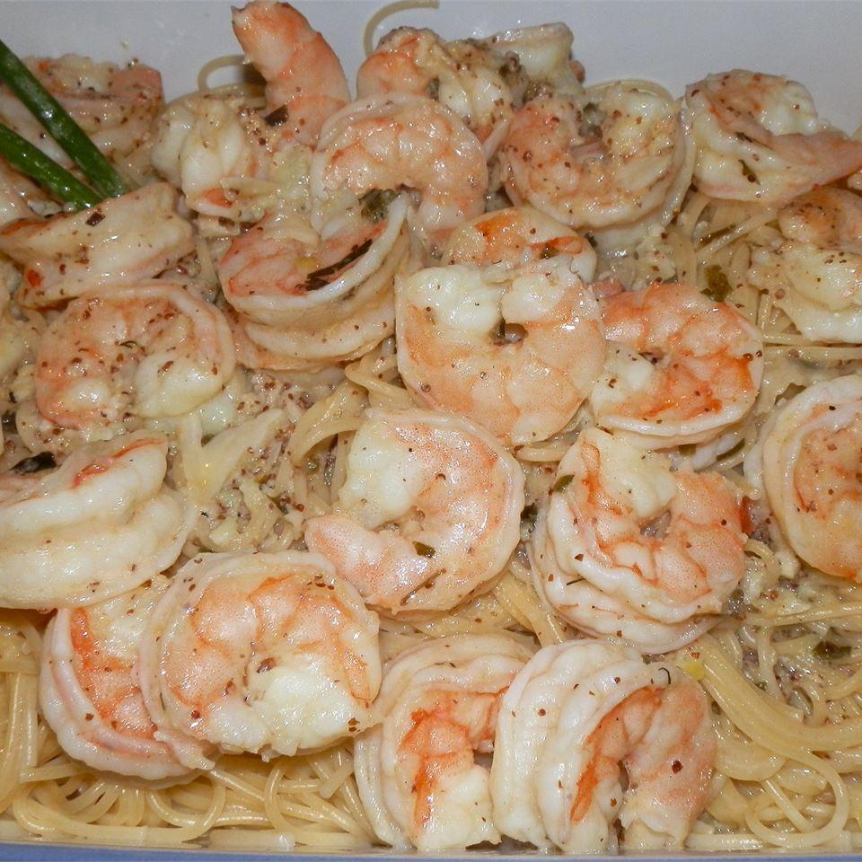 Shrimp Scampi Bake