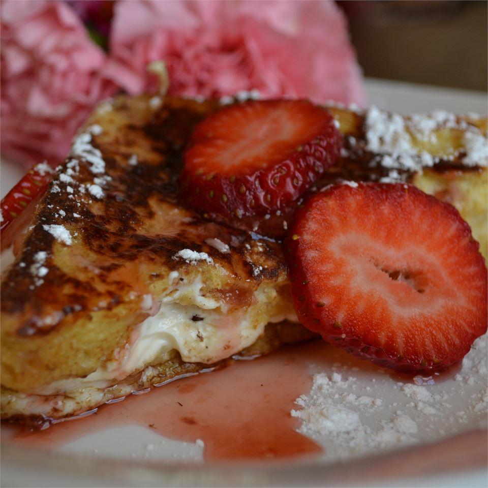 Strawberry Cheesecake French Toast Pamela Batovsky