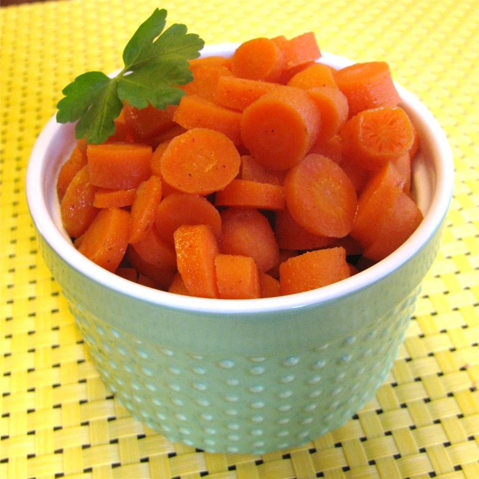 Cinnamon and Orange Glazed Carrots