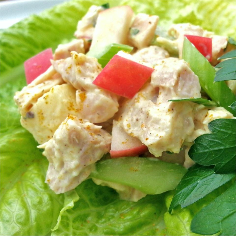 Chicken Salad with Mango Chutney