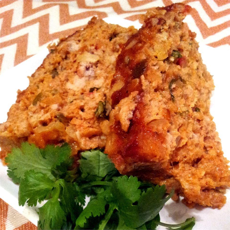 Salsa Chicken Meatloaf