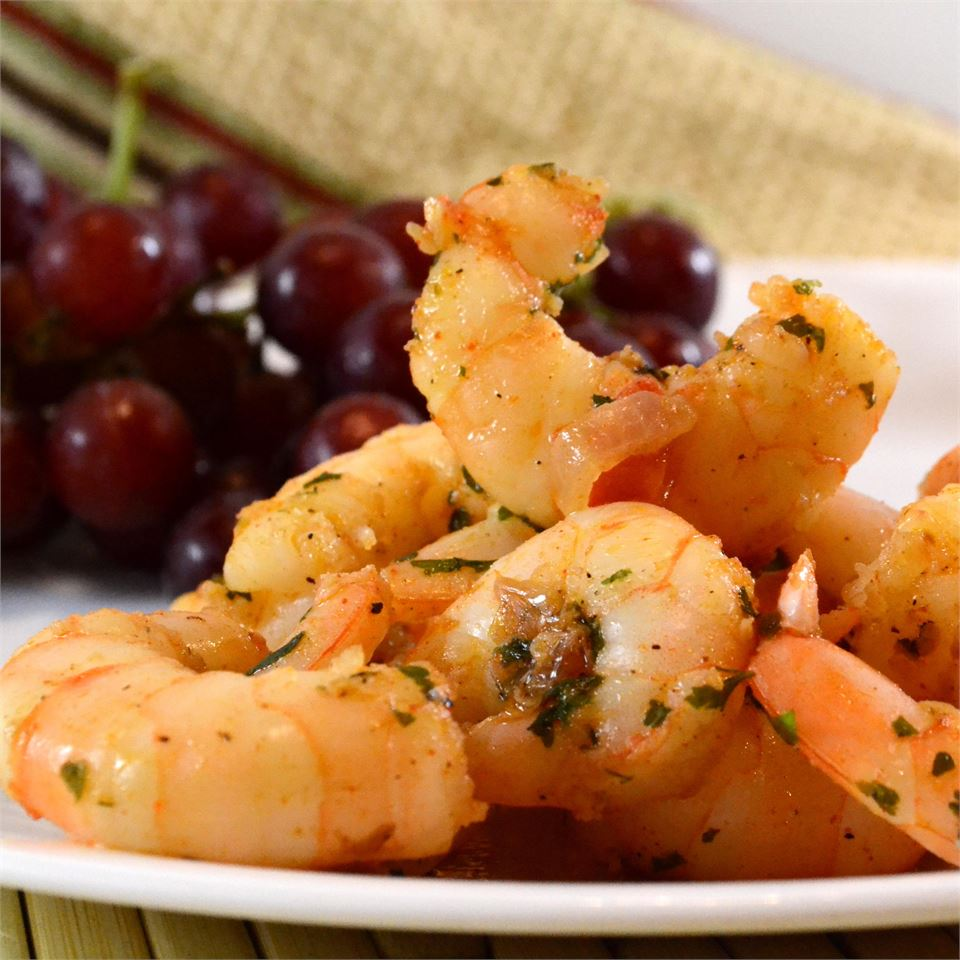 Sizzling Sherry Shrimp with Garlic MMZEHER