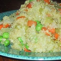 Vegetable Quinoa Pilaf sueb
