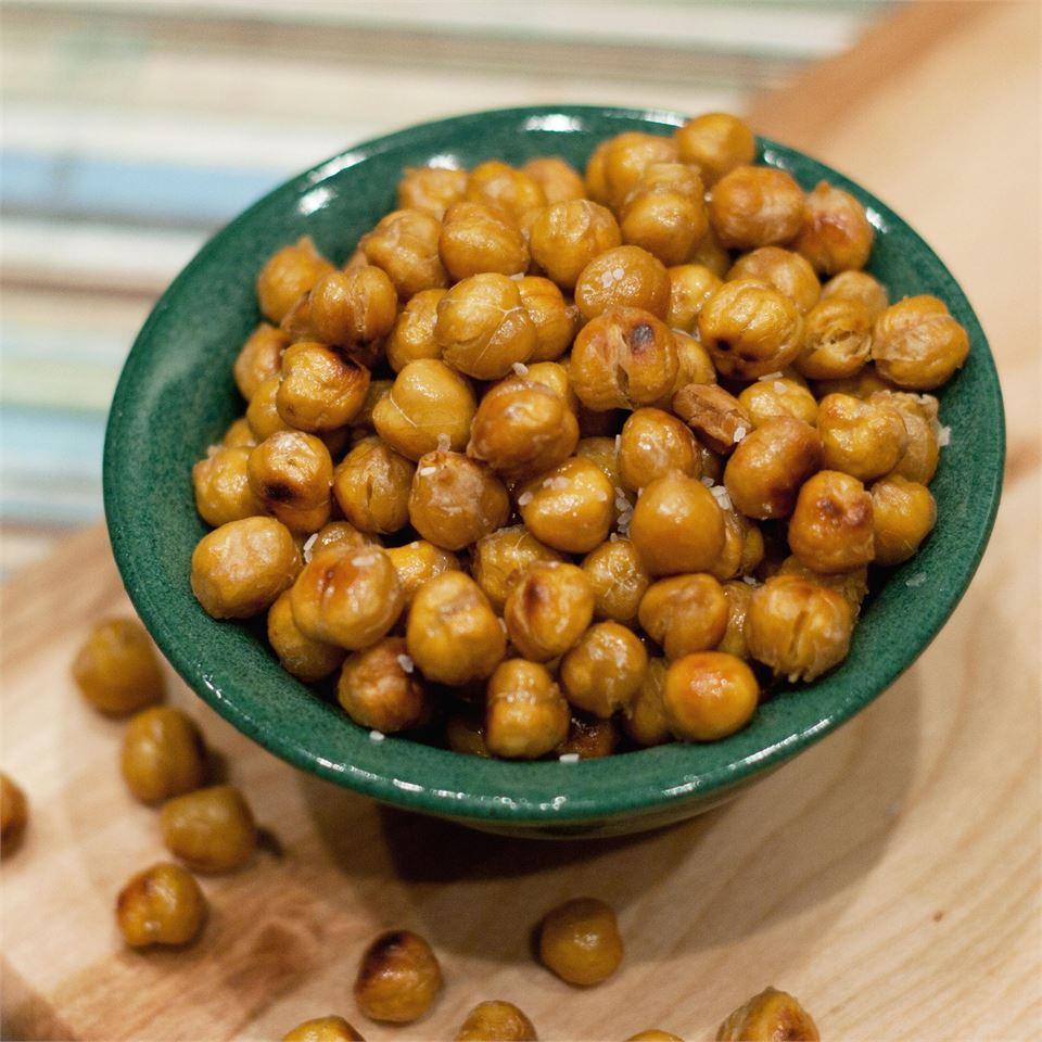 Roasted Salt & Vinegar Chickpeas