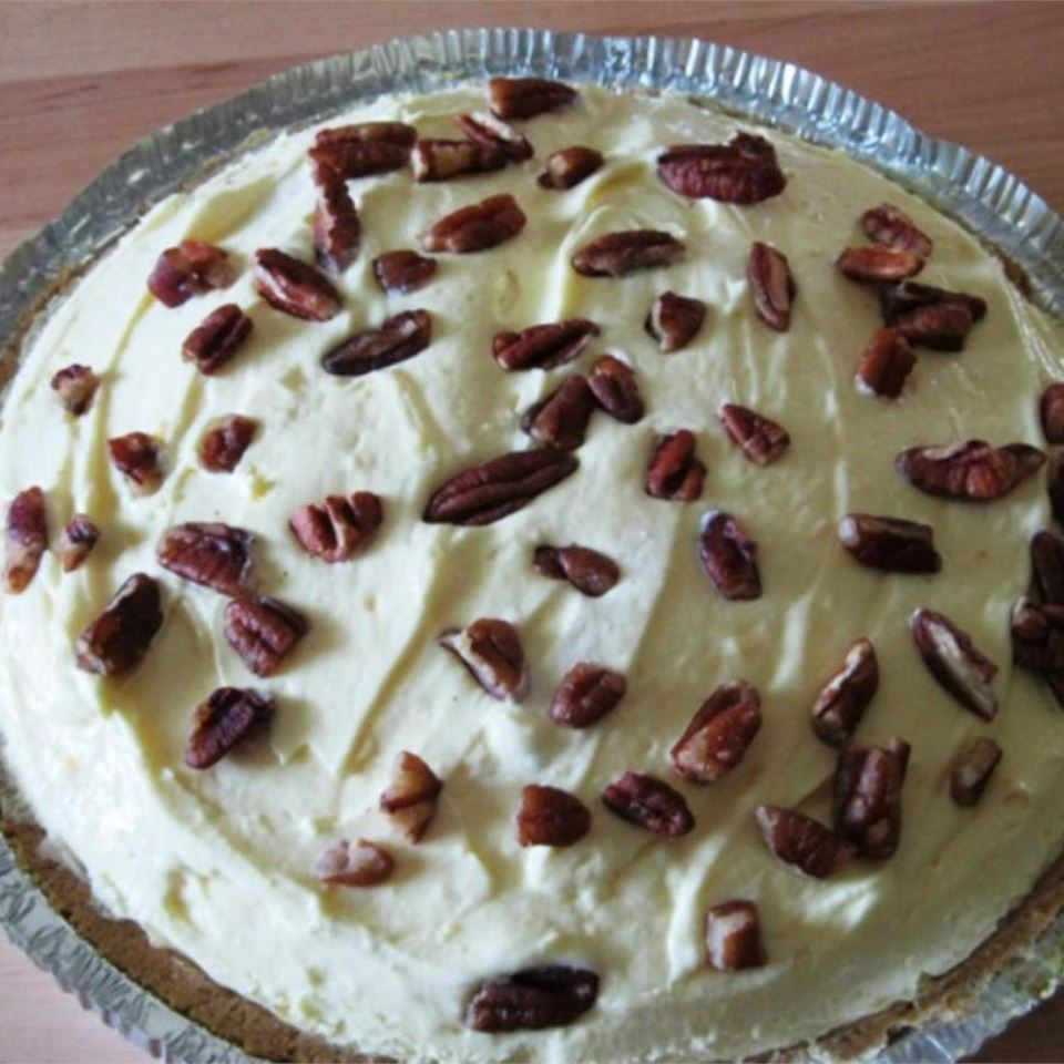 Banana-Pineapple Vanilla Pudding Pie