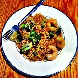 Easy Shrimp Lo Mein lovestohost