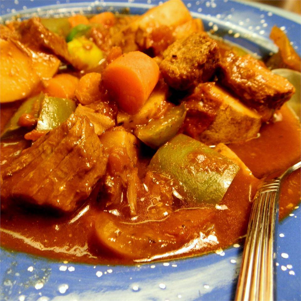 Savory Vegetable Beef Stew Cindy Capps Lepp