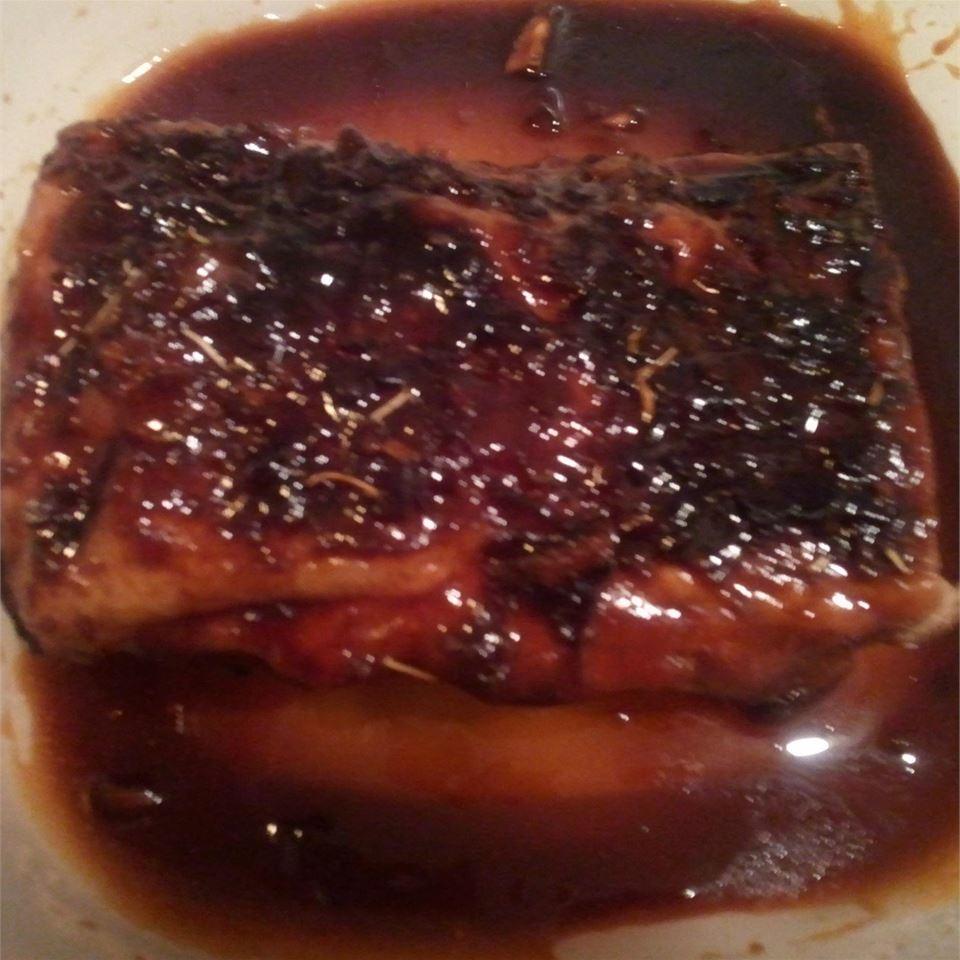 Orange Soy Pork Loin