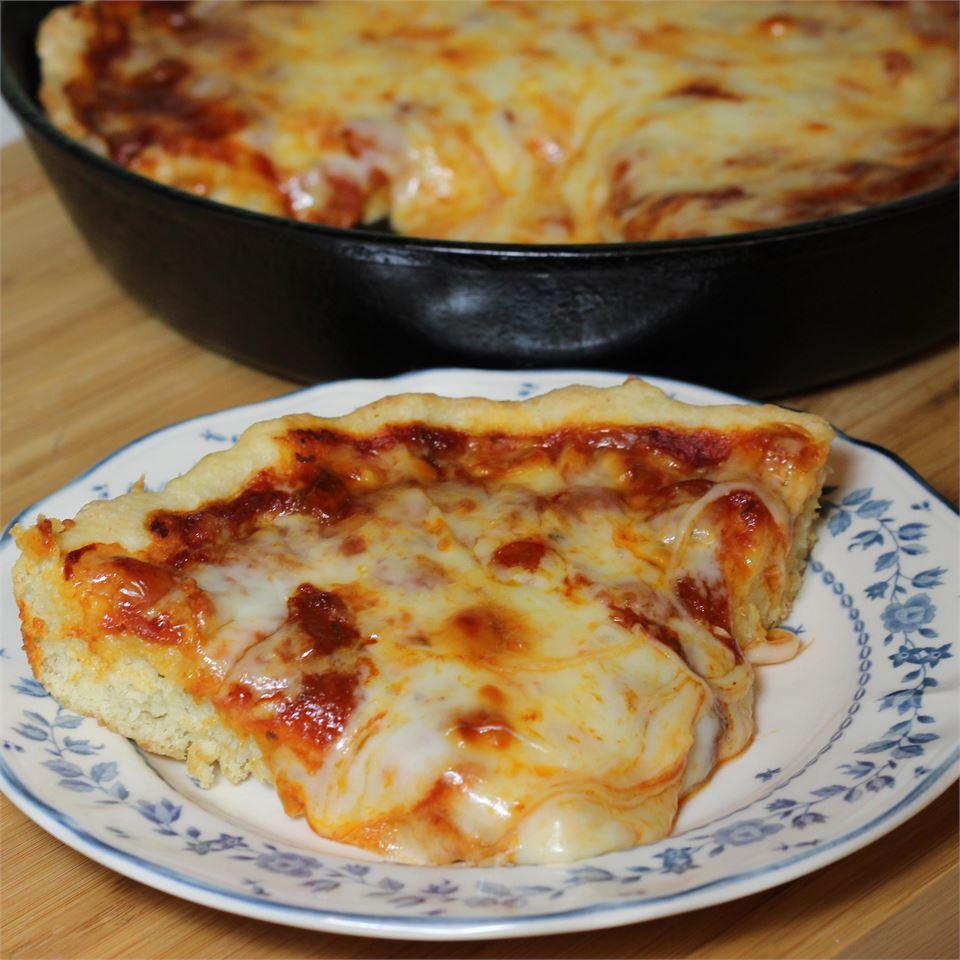 1-Dish Pepperoni Cheese Pizza Bake
