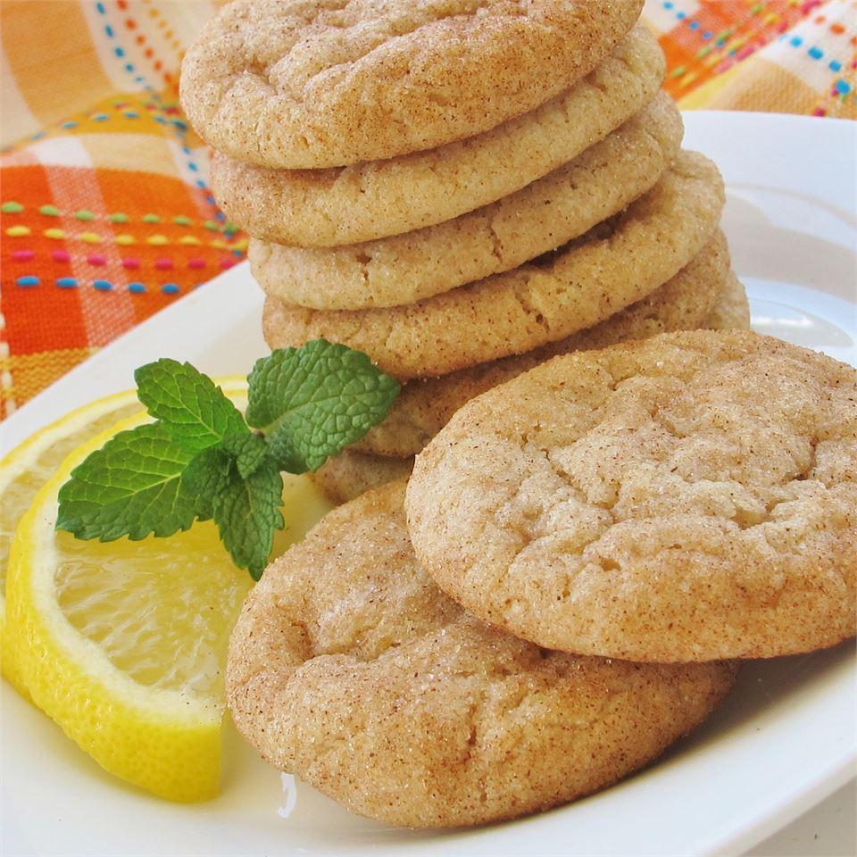 Cinnamon Lemon Cookies
