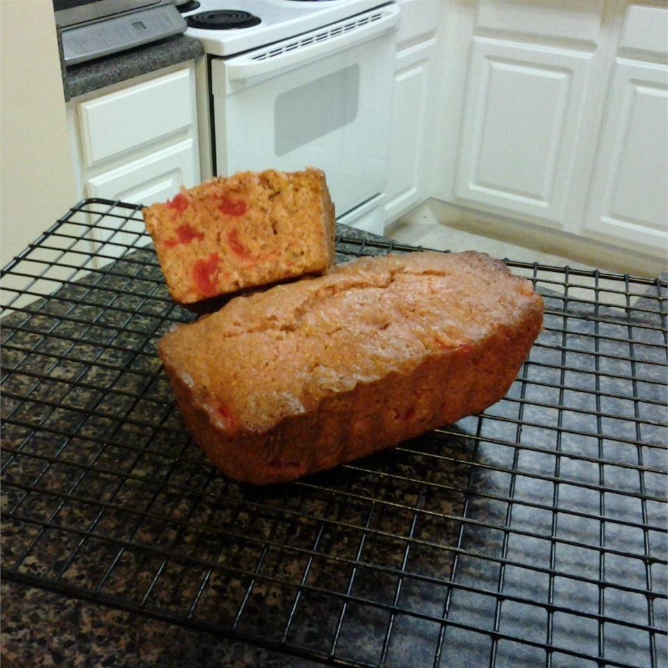 Maraschino Cherry Nut Bread