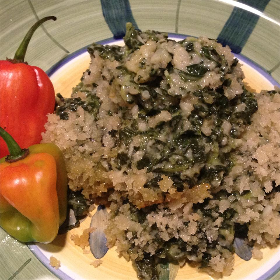Creamed Spinach with Jalapenos