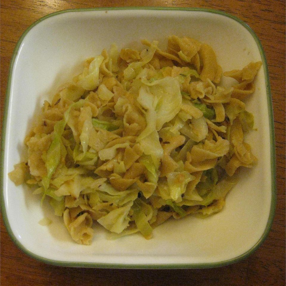Transylvanian Cabbage and Noodles Rachel Miller