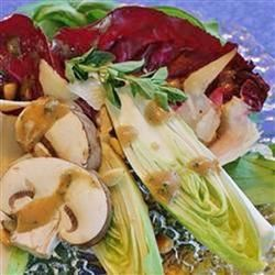 Tri-Color Chopped Salad with Pine Nuts and Parmesan Cheese naples34102