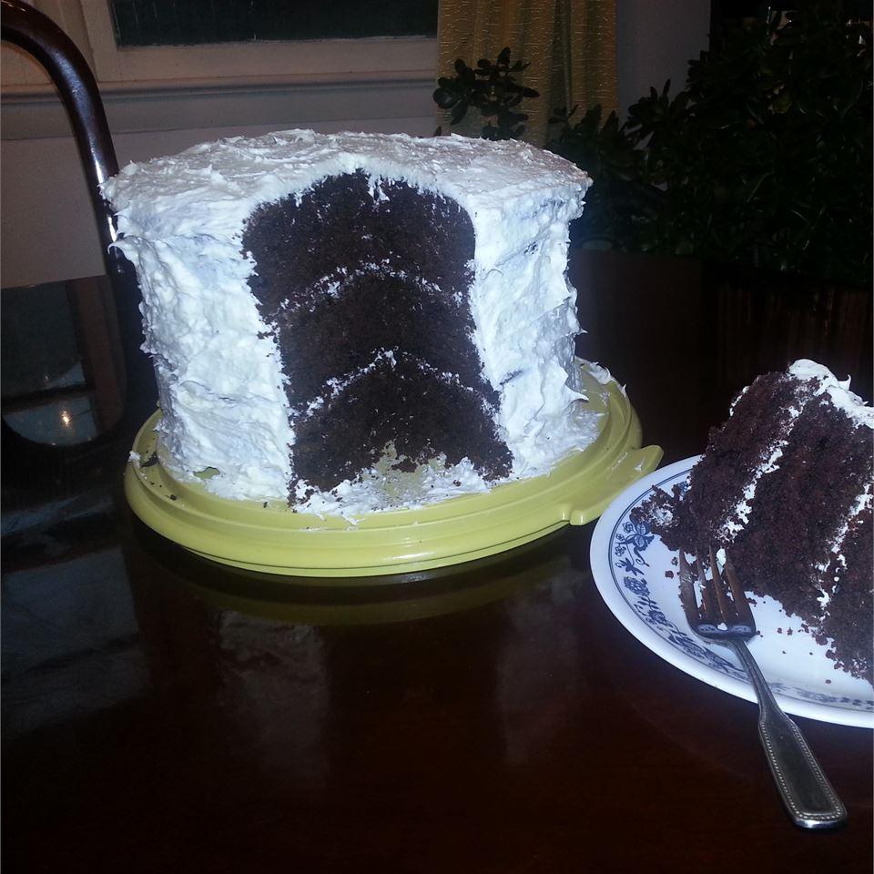 Chocolate Sauerkraut Cake I