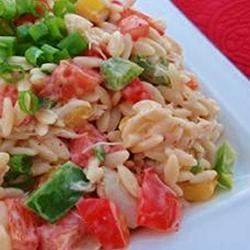 Crab and Orzo Salad naples34102