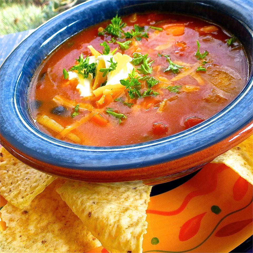 Quick Spicy Tomato Soup