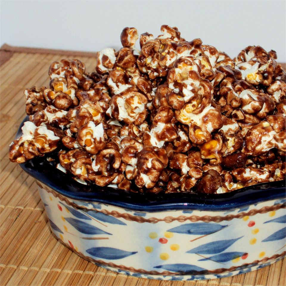Chocolate Almond Popcorn