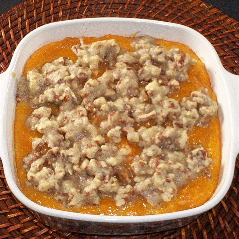 Crispy Sweet Potato Bake