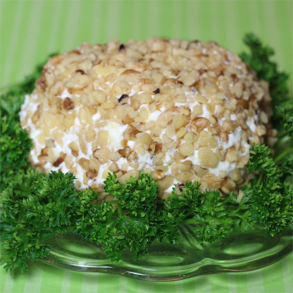 Pineapple and Cream Cheese Ball