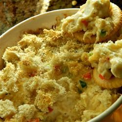 Hot Artichoke and Crab Dip