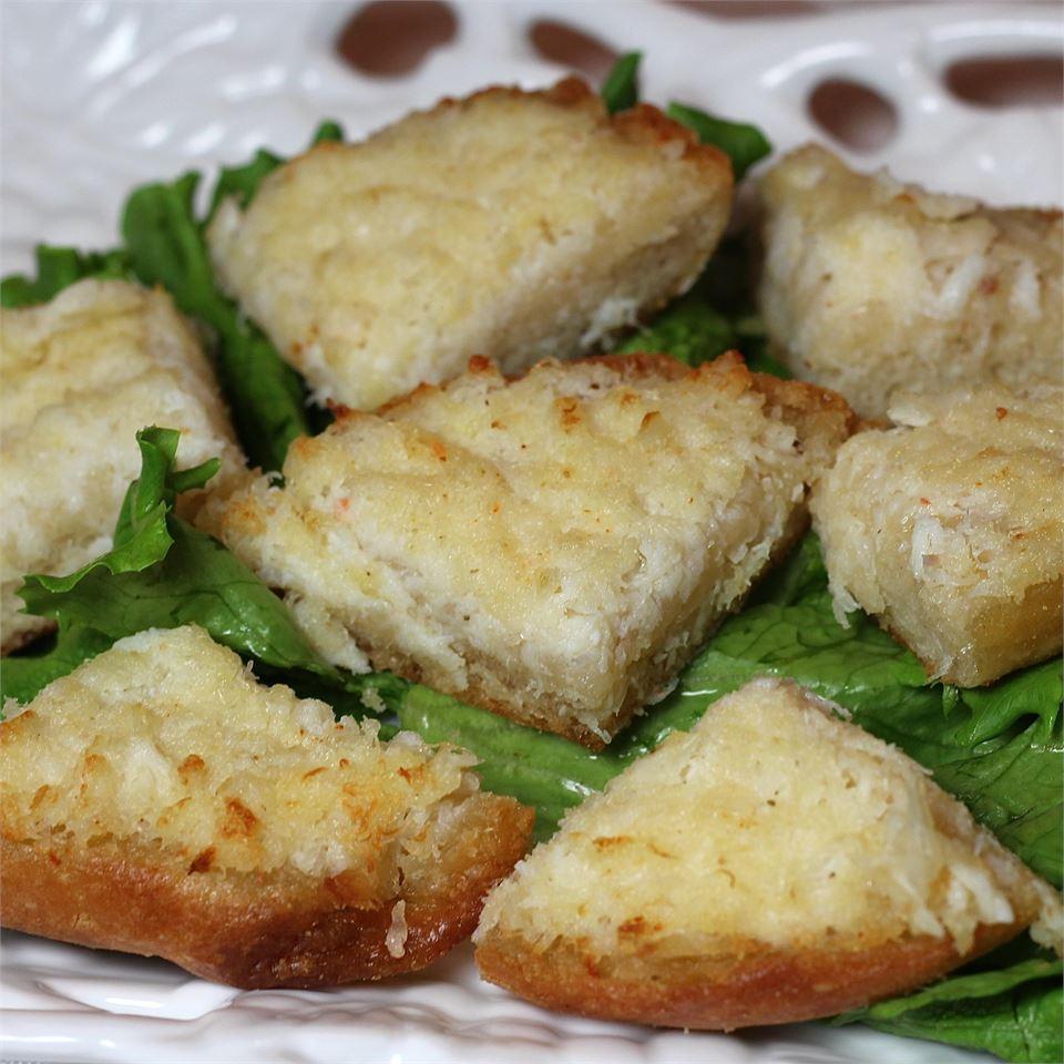 Crabmeat Toasts