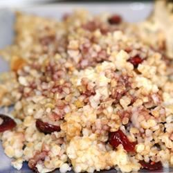 Bulgur Wheat with Dried Cranberries GRAYJETMAN