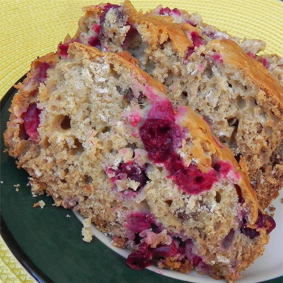 Honey Cranberry Oat Bread
