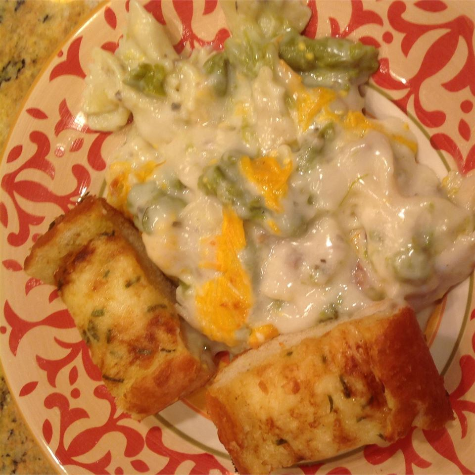 Cheesy Chicken Asparagus Casserole Jessica