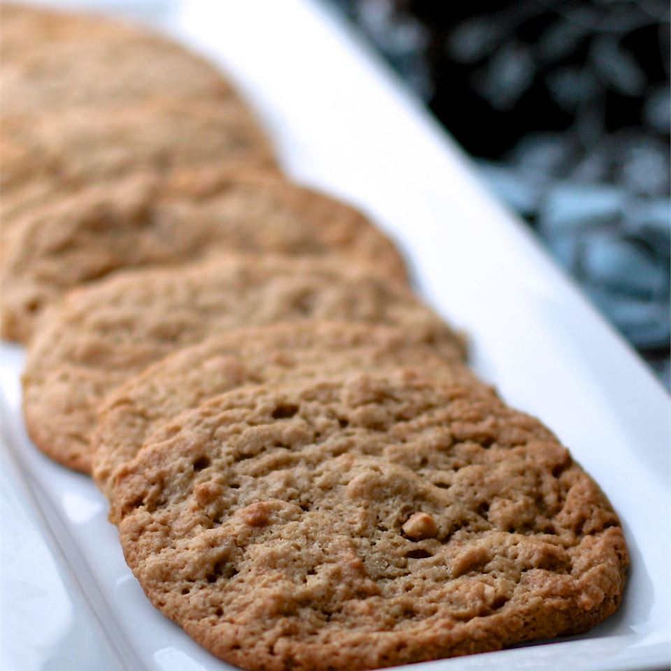 Healthier Classic Peanut Butter Cookies