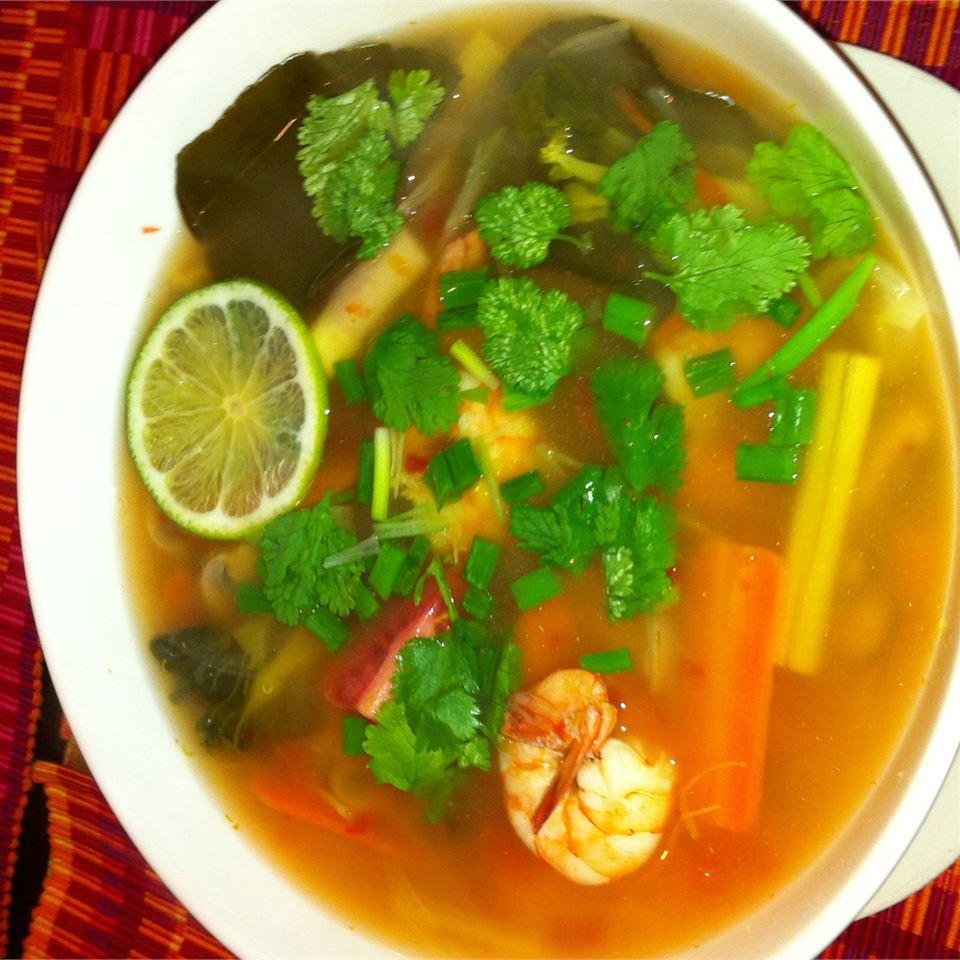 Vegetable Tom Yum Soup