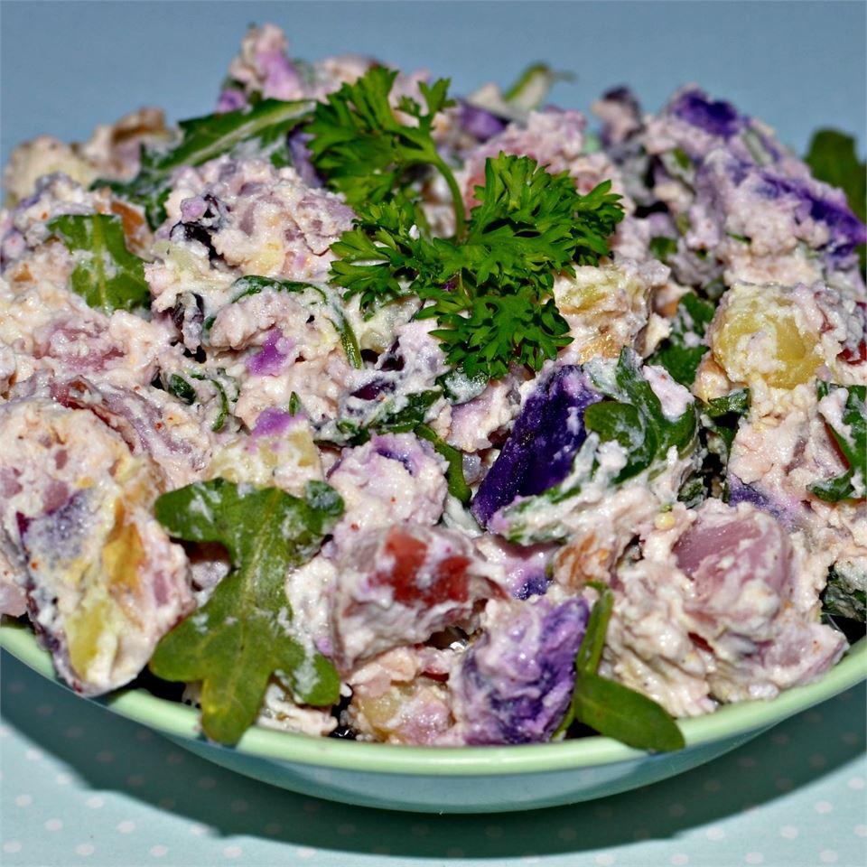Warm Fingerling Potato Salad Tammi