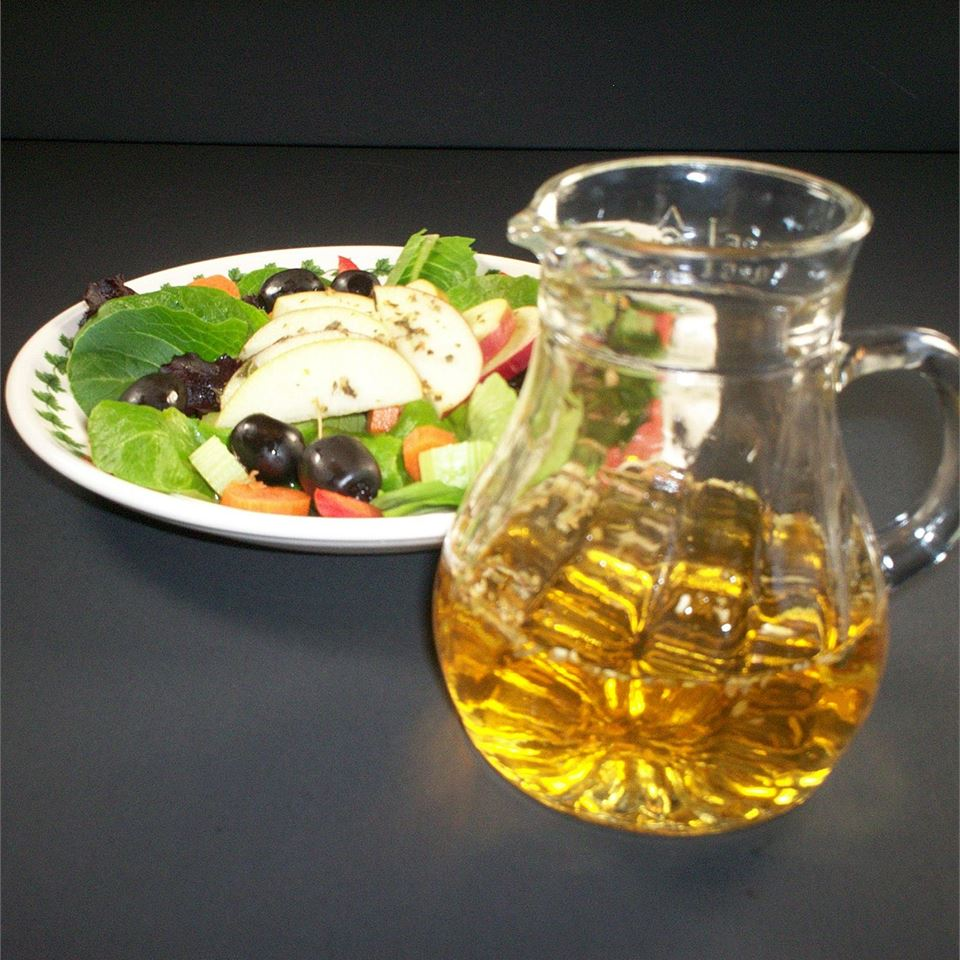 Oil-Free Apple Herb Salad Dressing Deb C