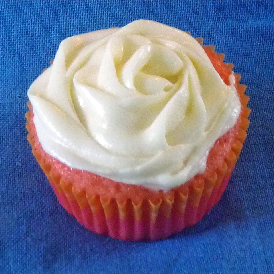 Strawberry Cupcakes with Lemon Zest Cream Cheese Icing