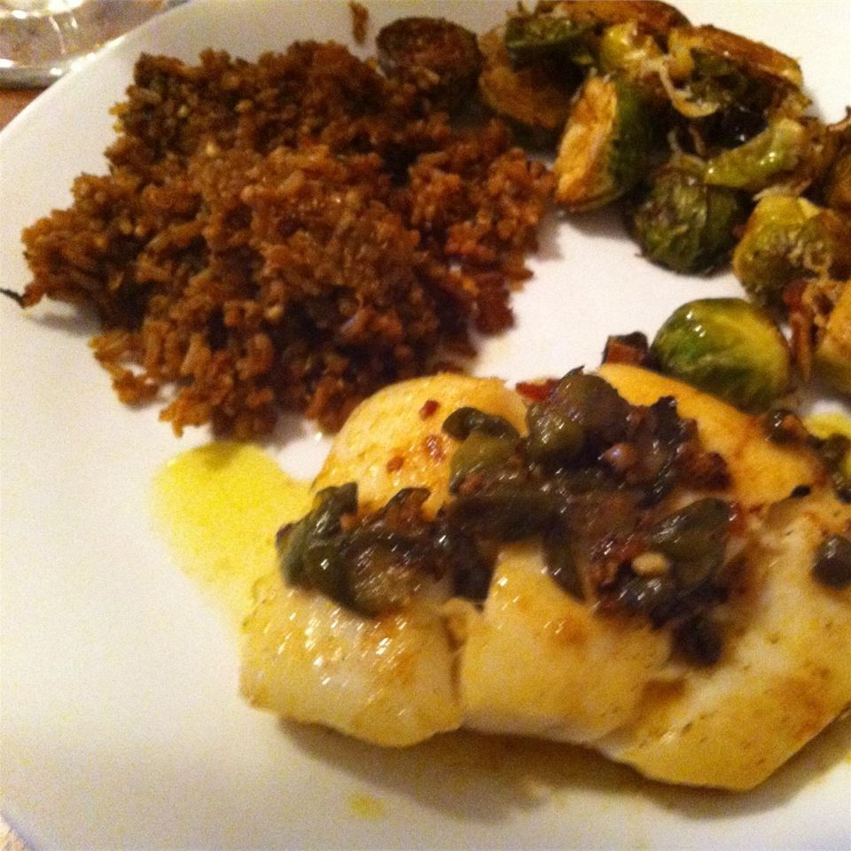 Capers and Halibut