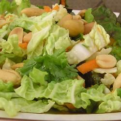 Napa Cabbage Salad with Lemon-Pistachio Vinaigrette gapch1026