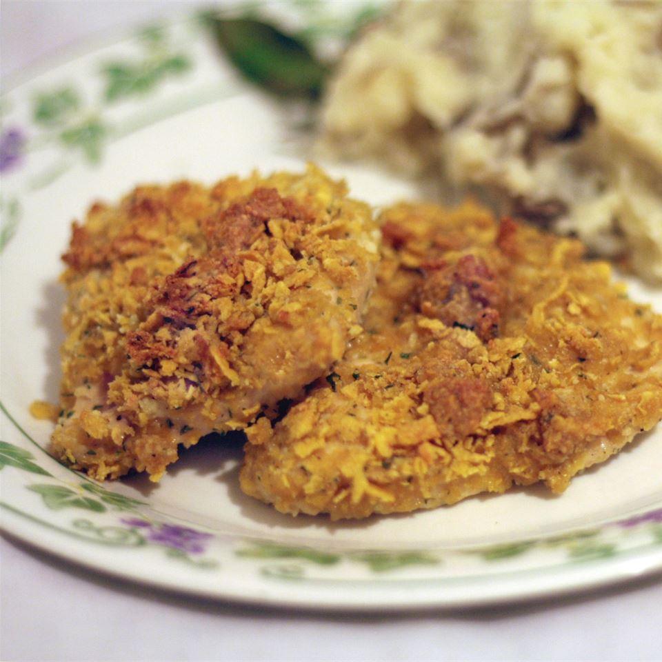 Breaded Parmesan Ranch Chicken Carol Nesbit Johnson