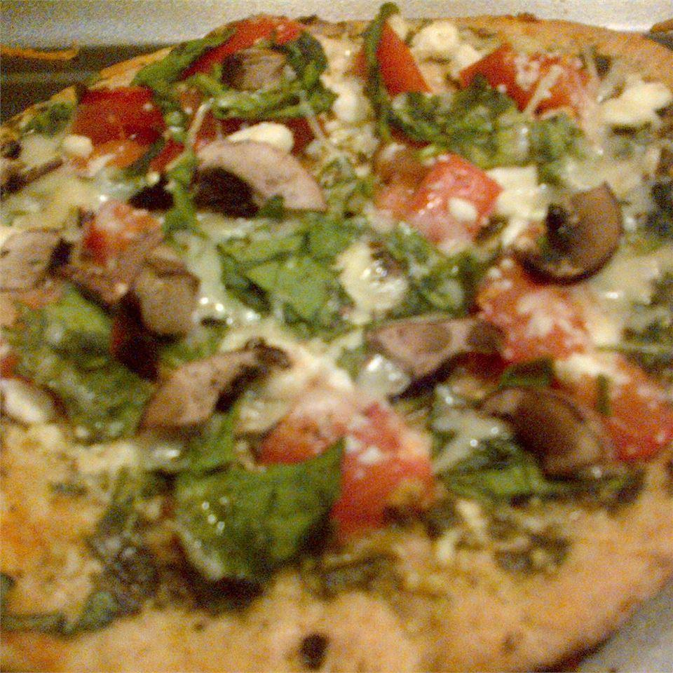 Spinach and Feta Pita Bake