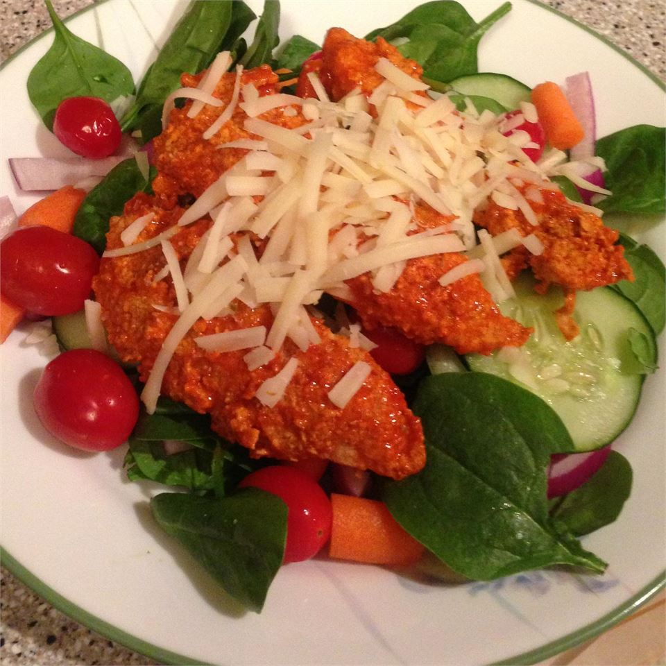 Hot 'n' Spicy Buffalo Chicken Salad