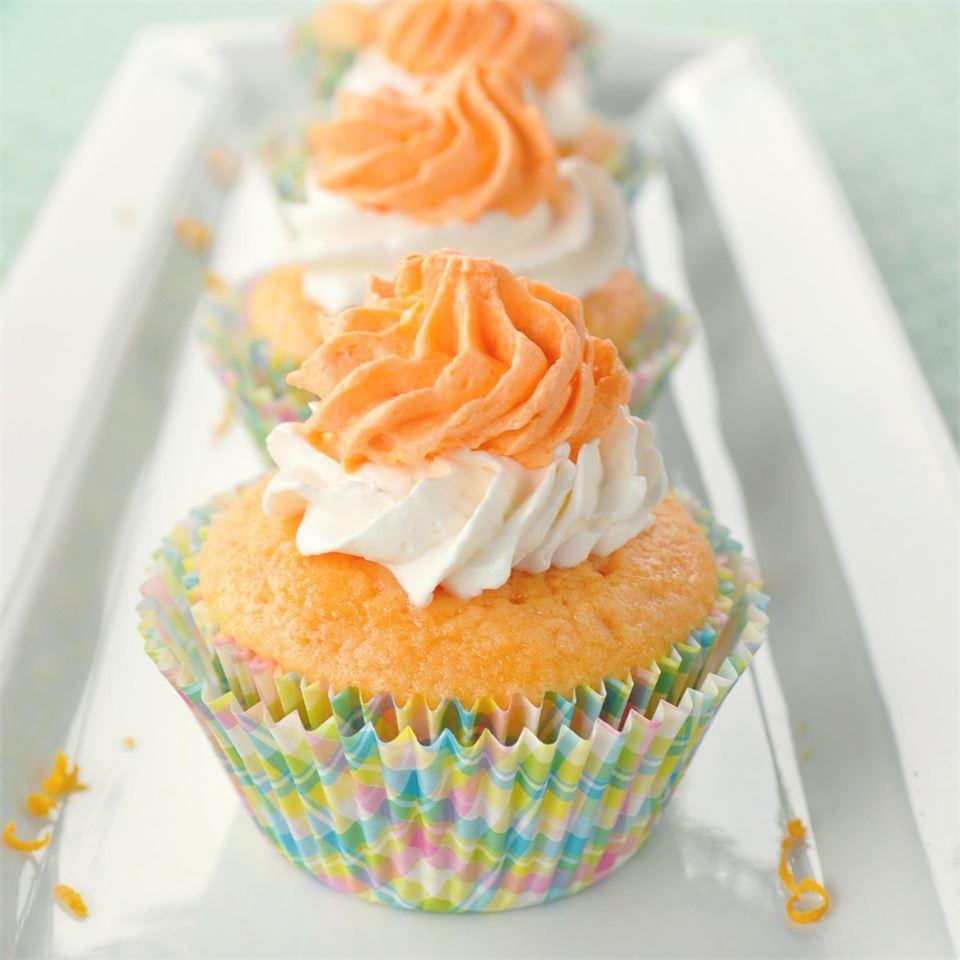 Dreamy Orange Cupcakes KGora