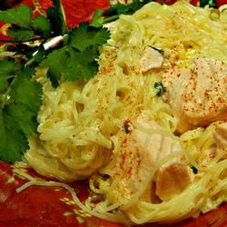 Creamy Salmon and Leek Pasta
