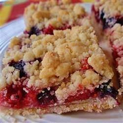 Berry Crumb Bars naples34102