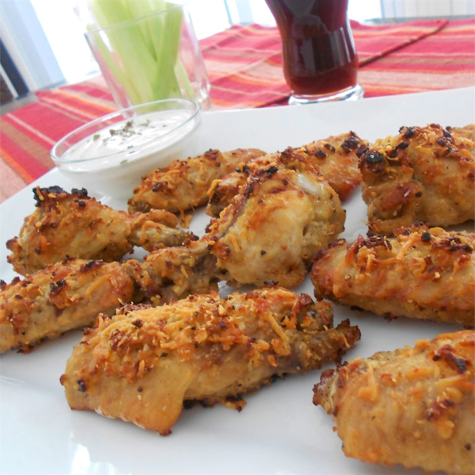 Garlic and Parmesan Chicken Wings