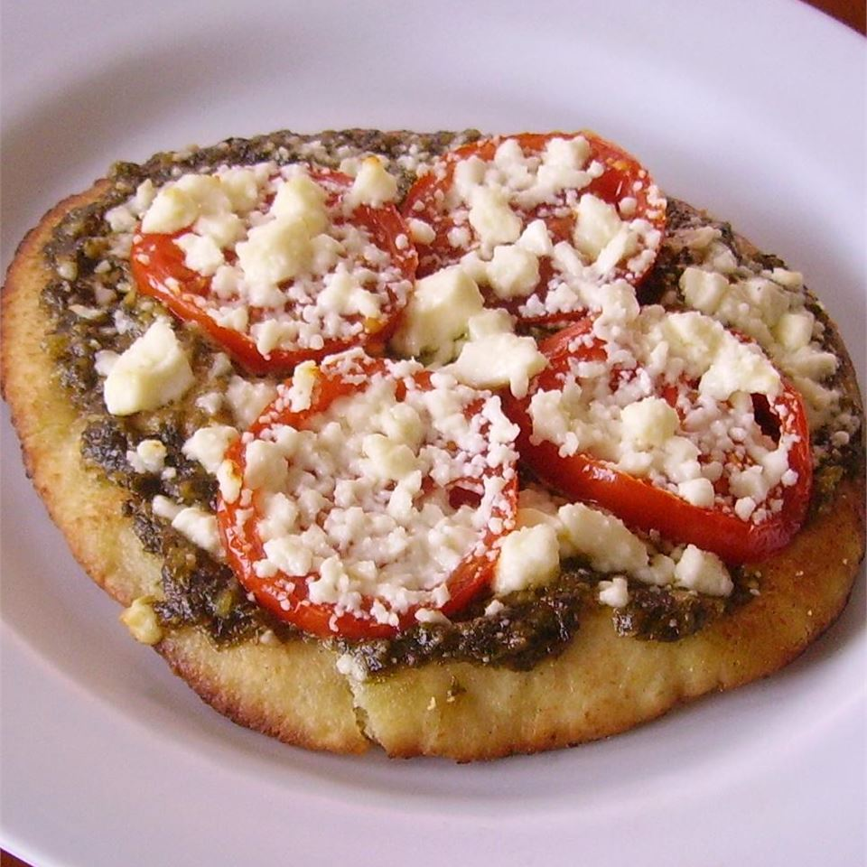 Pesto Pita Pizza