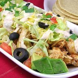 Ranch Chicken Tacos DIZ♥